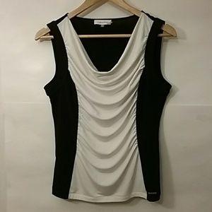 Calvin Klein scoop neck top
